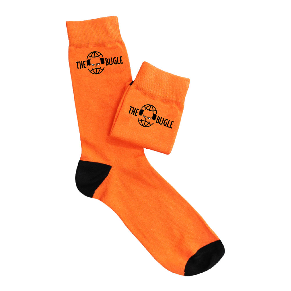 The Bugle - Logo (Orange) Size 7-11