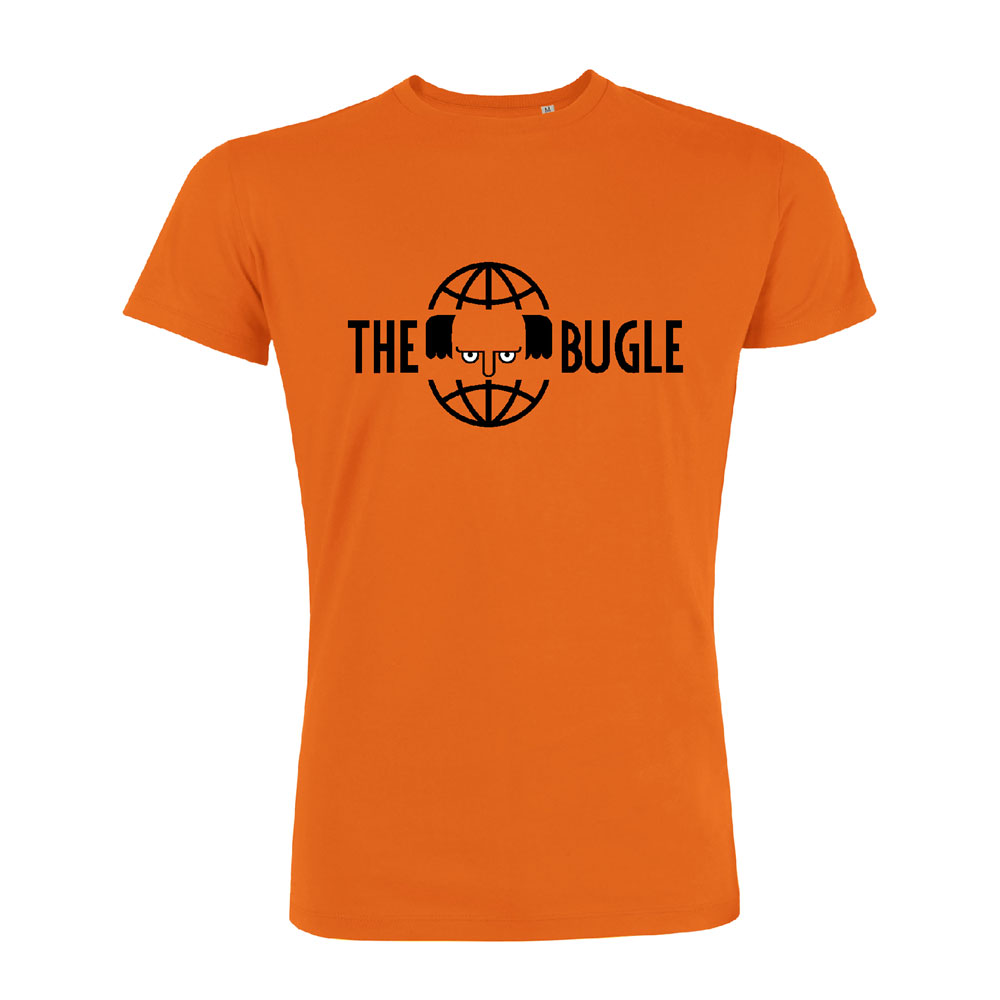 The Bugle - Logo (Orange)