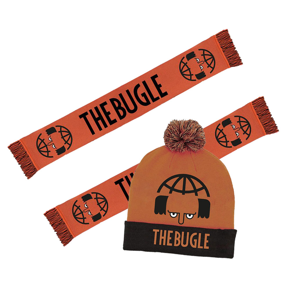 The Bugle - Logo Hat and Logo Scarf Bundle