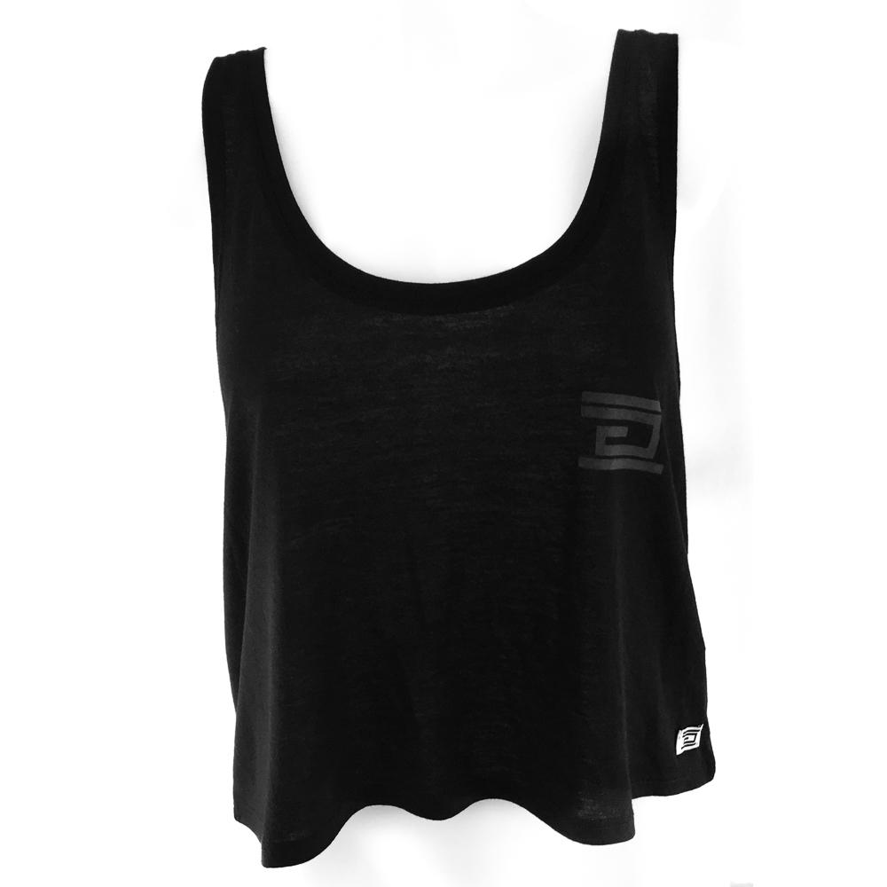 Drumcode - Flowy Box Tank Top (Black)
