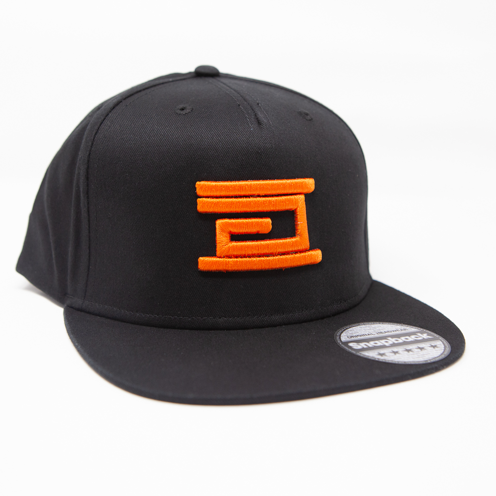 Drumcode - Snapback (Orange on Black)