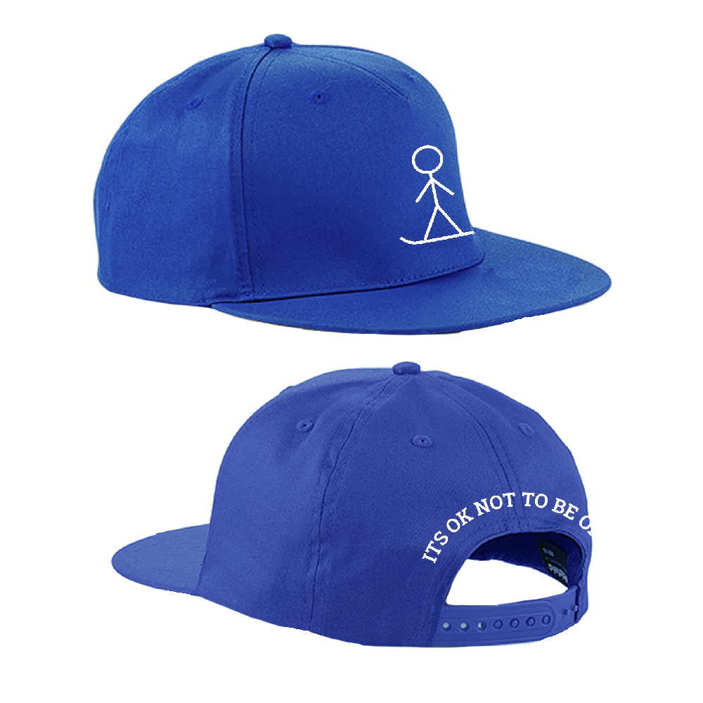 The Ellie Soutter Foundation - Stickman Snapback Cap (Royal Blue)