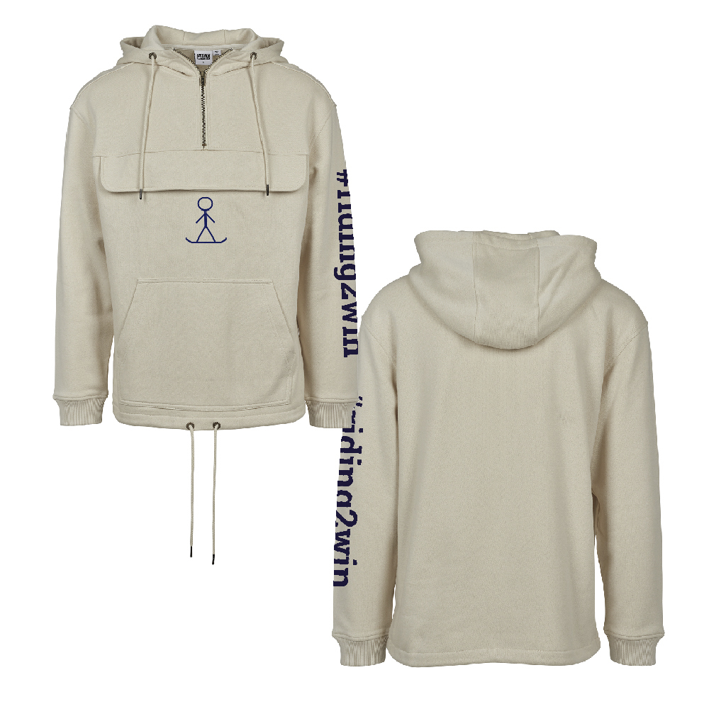 The Ellie Soutter Foundation - Pleat Pocket Hoodie (Sand)