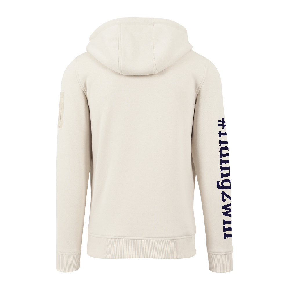 The Ellie Soutter Foundation - Zip Pocket Hoodie (Sand)