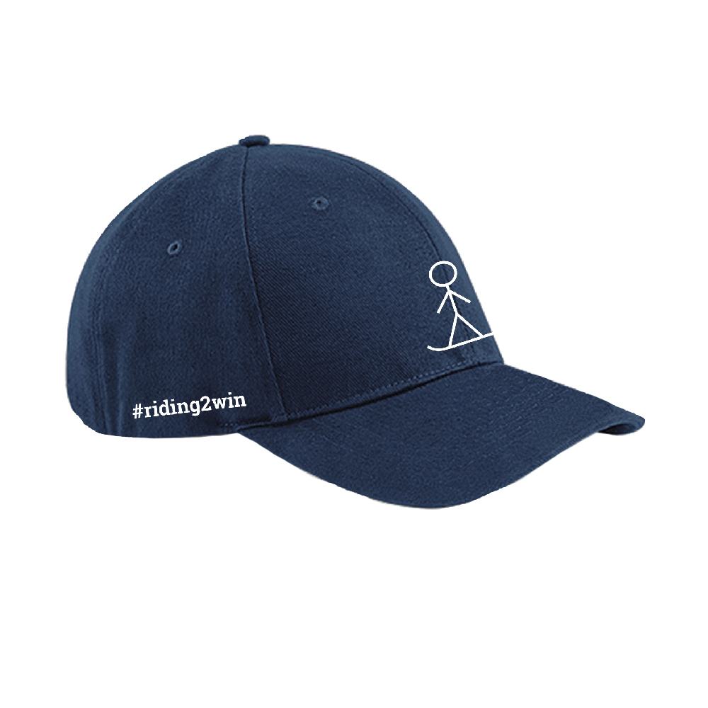 The Ellie Soutter Foundation - Stickman Baseball cap (Navy Blue)