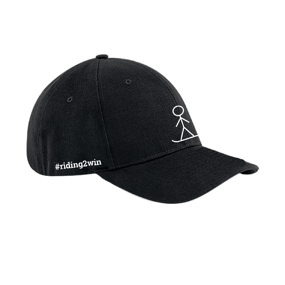The Ellie Soutter Foundation - Stickman Baseball Cap (Black)