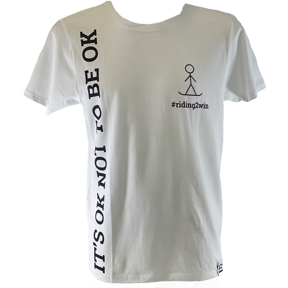The Ellie Soutter Foundation - It's OK  T-Shirt (White)