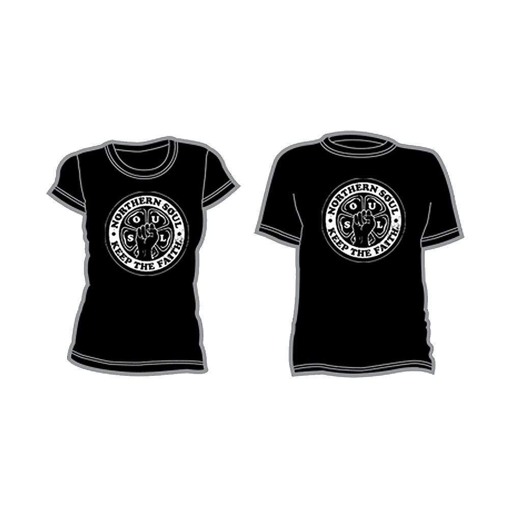 Northern Soul Revival - S-O-U-L (black)