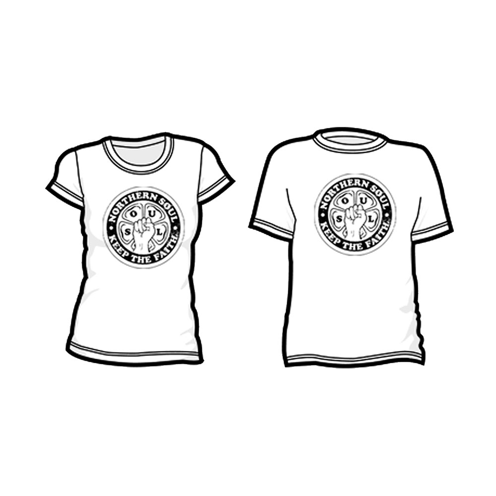 Northern Soul Revival - S-O-U-L (White)
