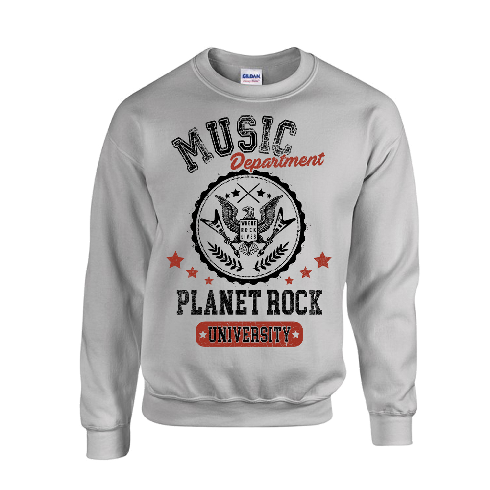 Planet Rock - University Sweat