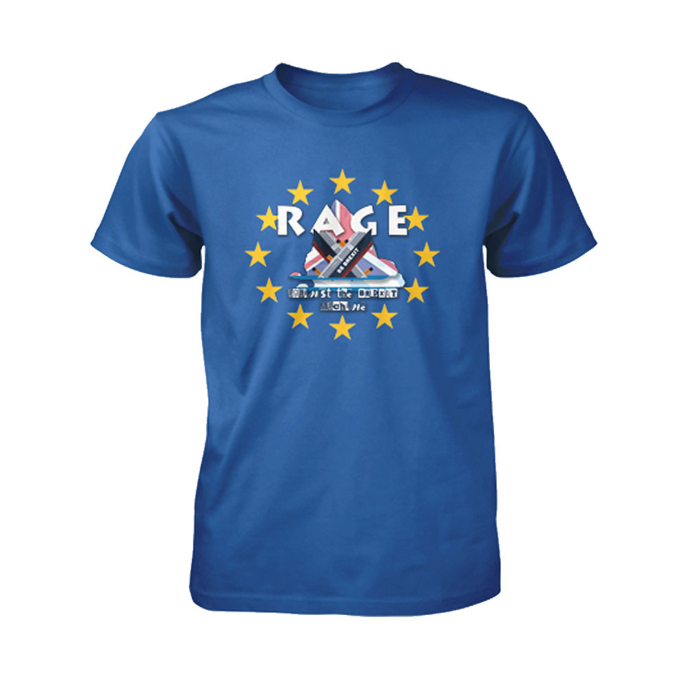 Rage Against The Brexit Machine - Rage Against Brexit (Blue)