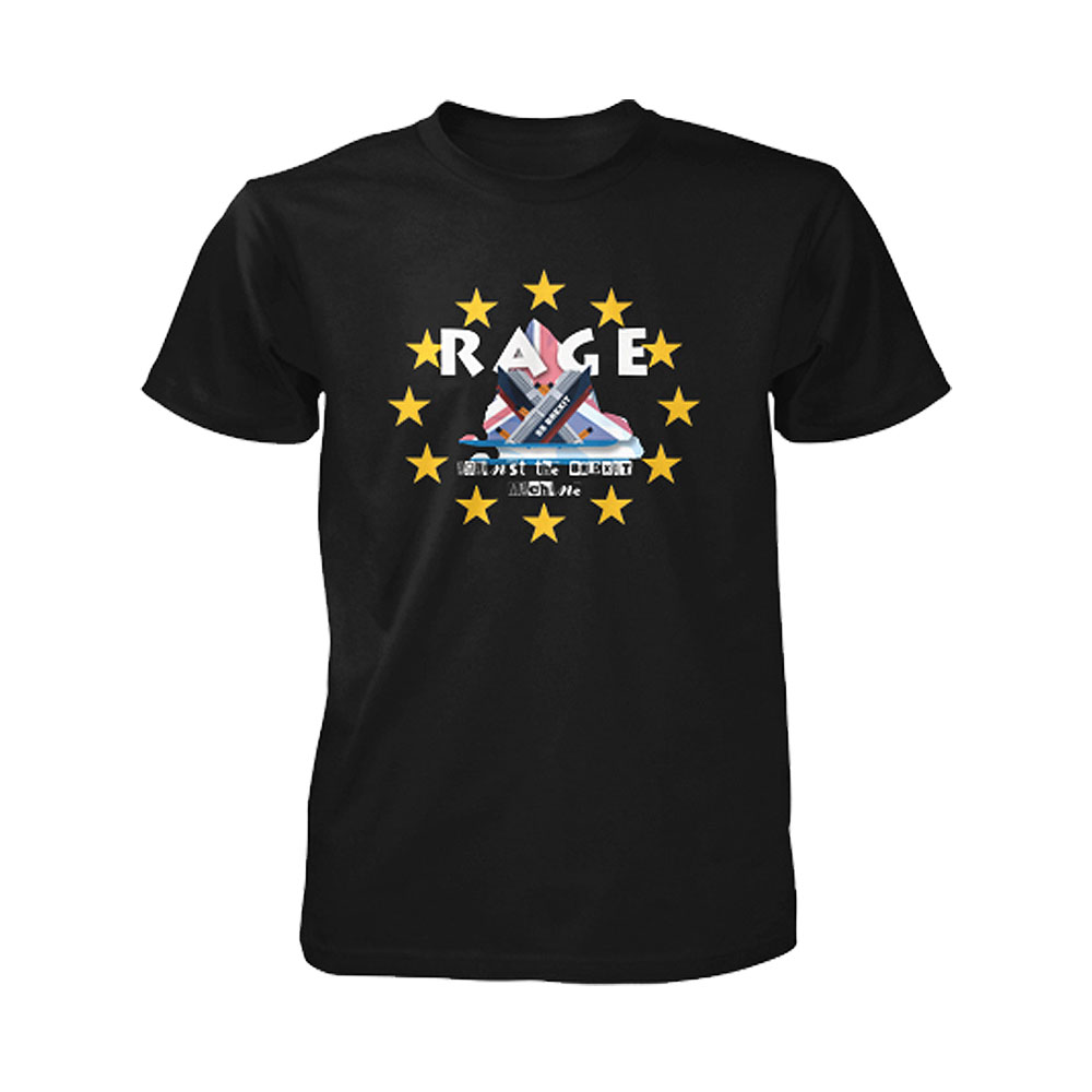 Rage Against The Brexit Machine - Rage Against Brexit (Black)