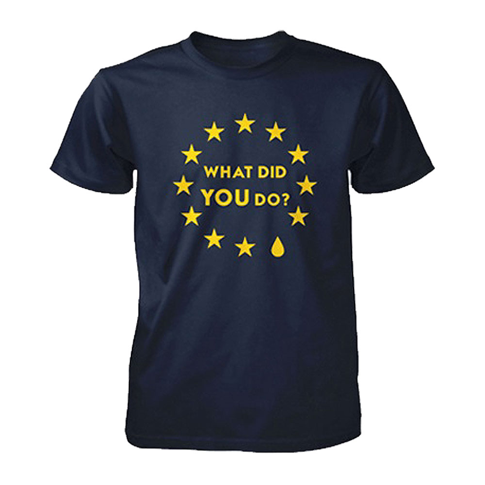 Remain Not Brexit - What Did YOU Do? (Navy)