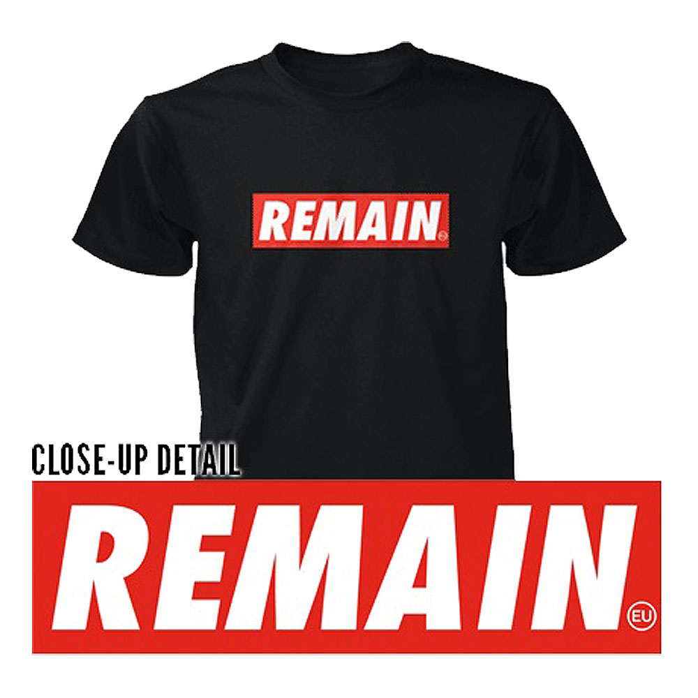 Remain Not Brexit - Remain (Black)