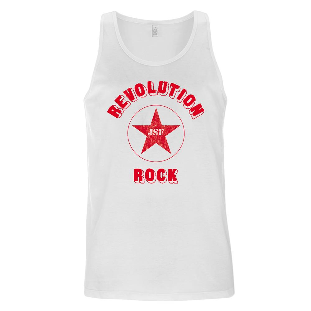 The Joe Strummer Foundation - Revolution Rock Mens Vest (White)