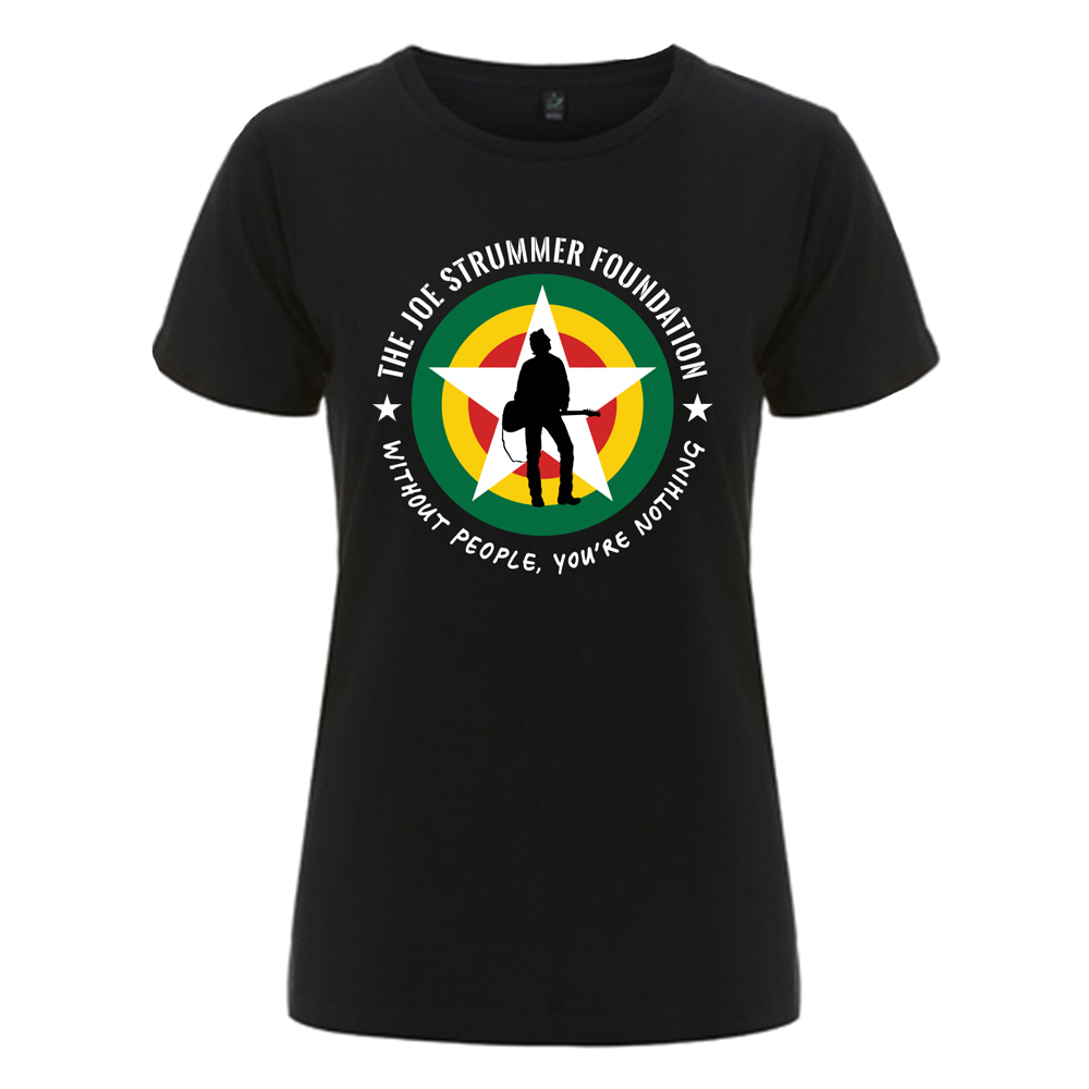 The Joe Strummer Foundation - New JSF Logo (Black)