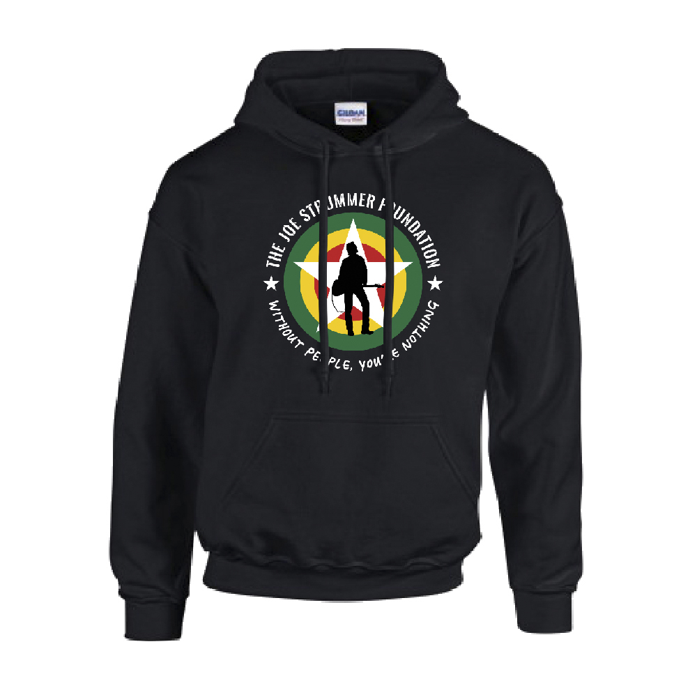 The Joe Strummer Foundation - JSF Classic Hood (Black)