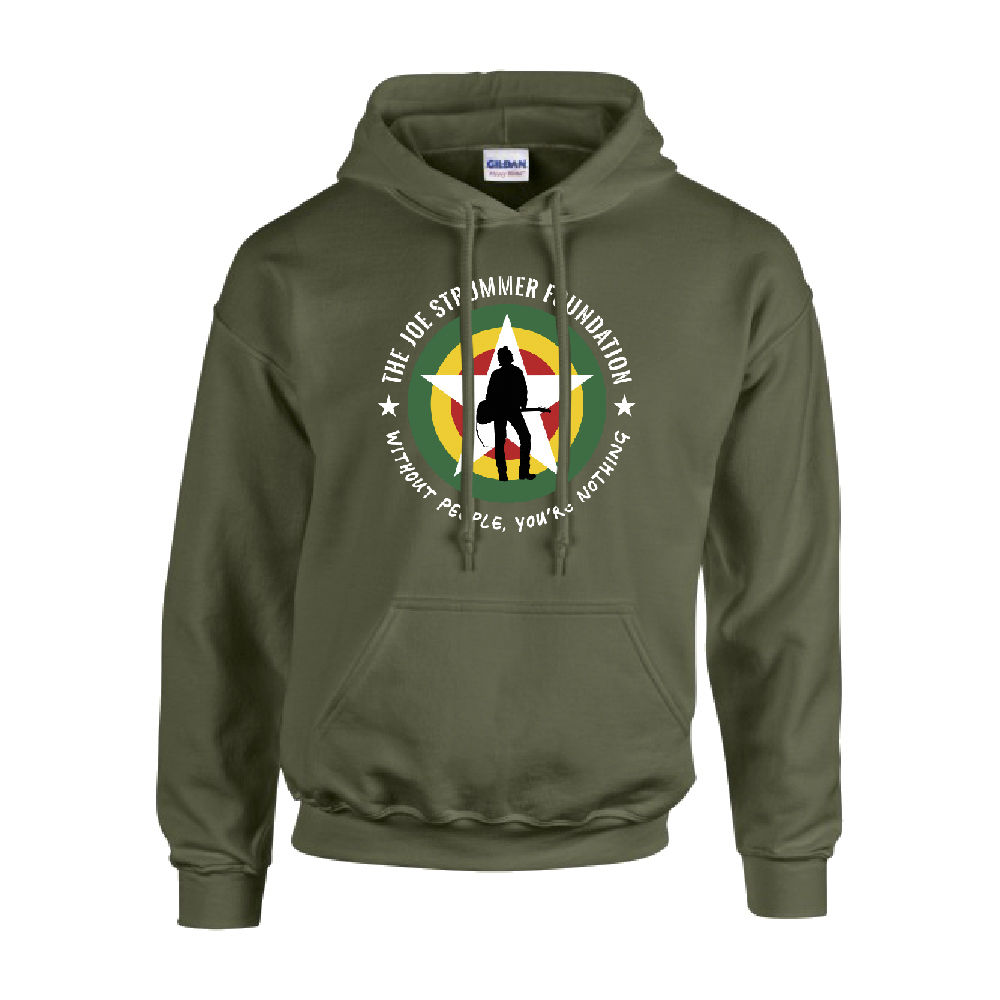 The Joe Strummer Foundation - JSF Classic Hood (Khaki)