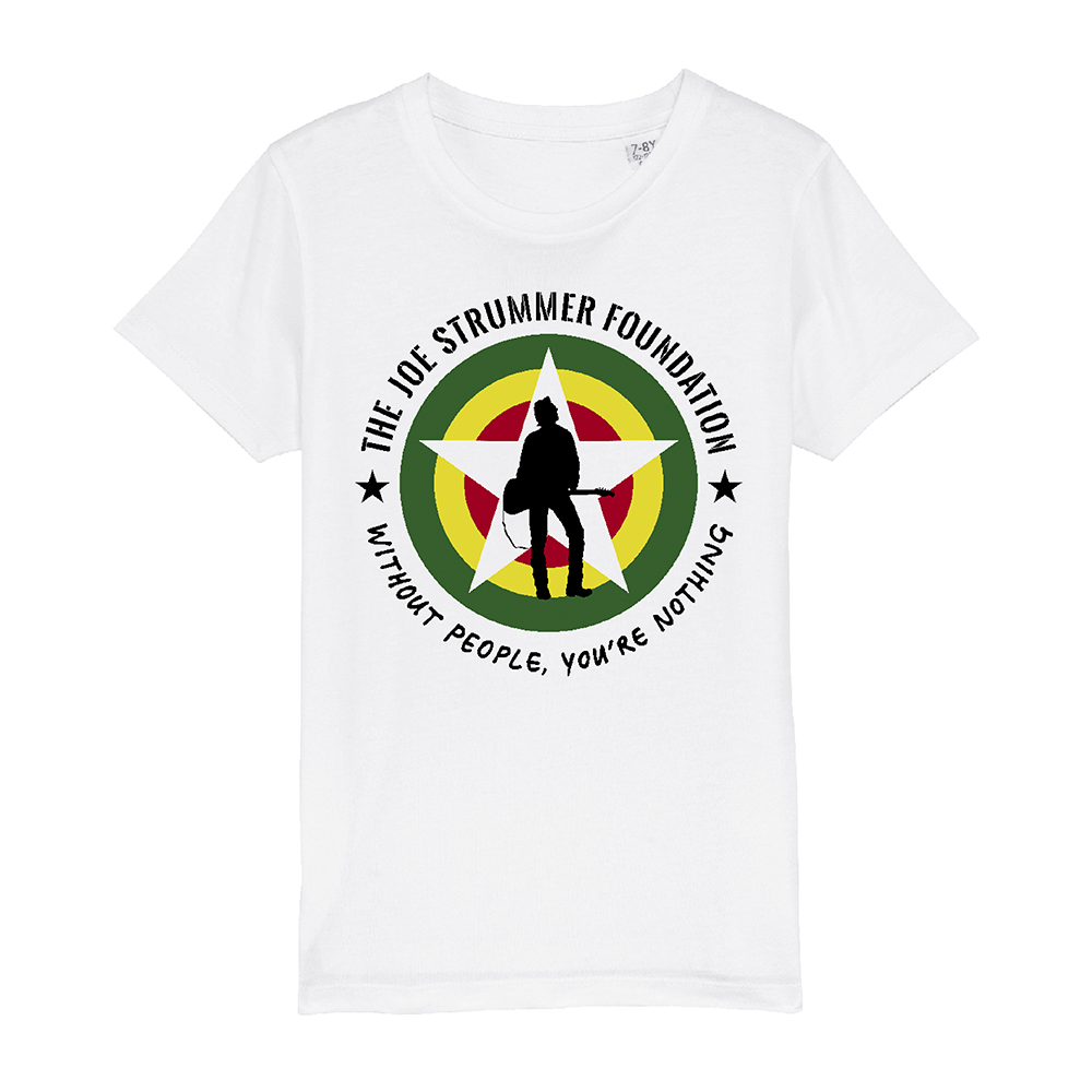 The Joe Strummer Foundation - Kids JSF Logo (White)