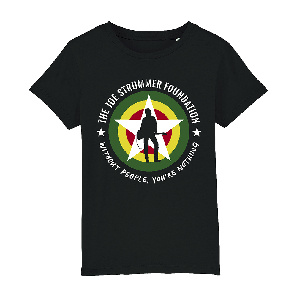 The Joe Strummer Foundation - Kids JSF Logo (Black)