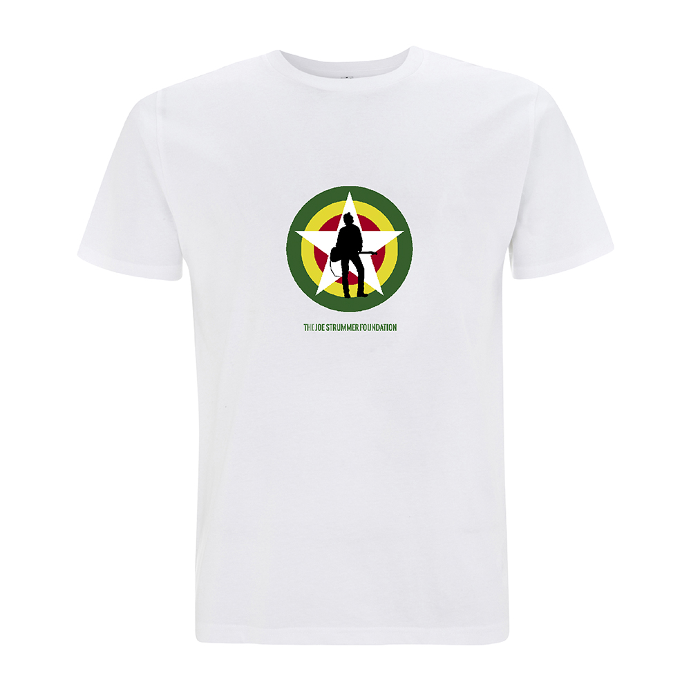 The Joe Strummer Foundation - Glastonbury Checklist (White)