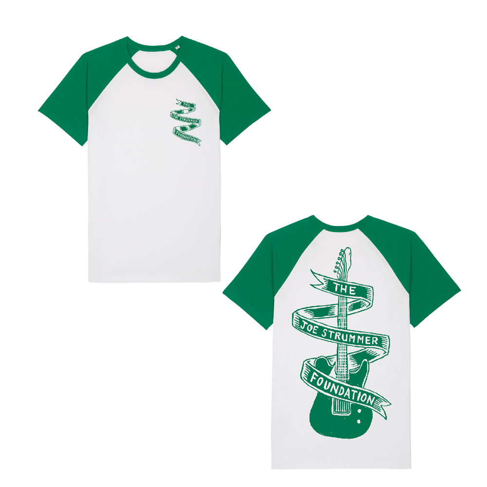 The Joe Strummer Foundation - Green Guitar (Short Sleeve)
