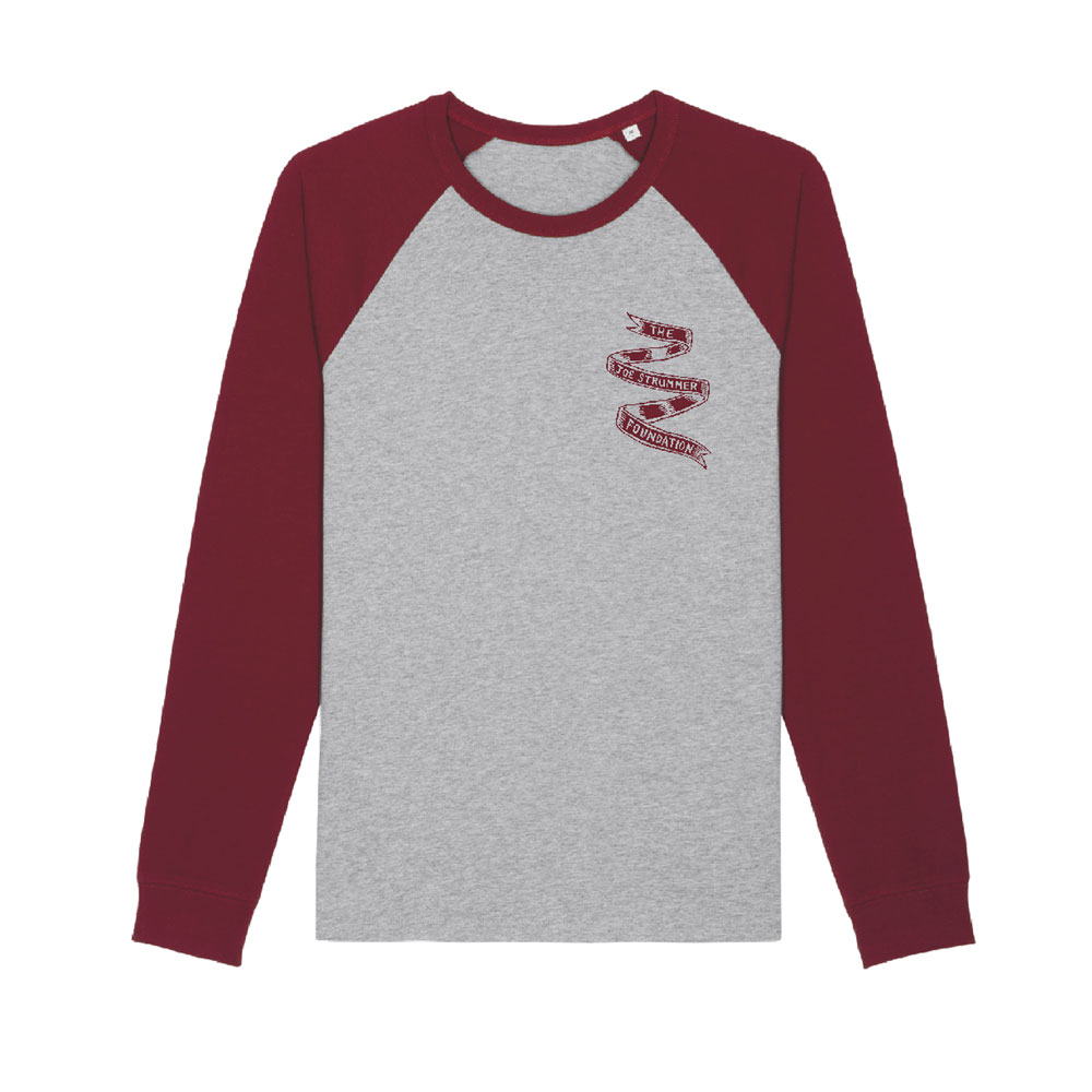 The Joe Strummer Foundation - Maroon Guitar (Long Sleeve)