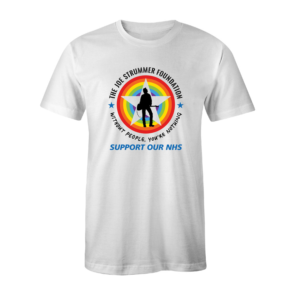 The Joe Strummer Foundation - JSF Ltd Edition Logo T Shirt (Mens & Womens)