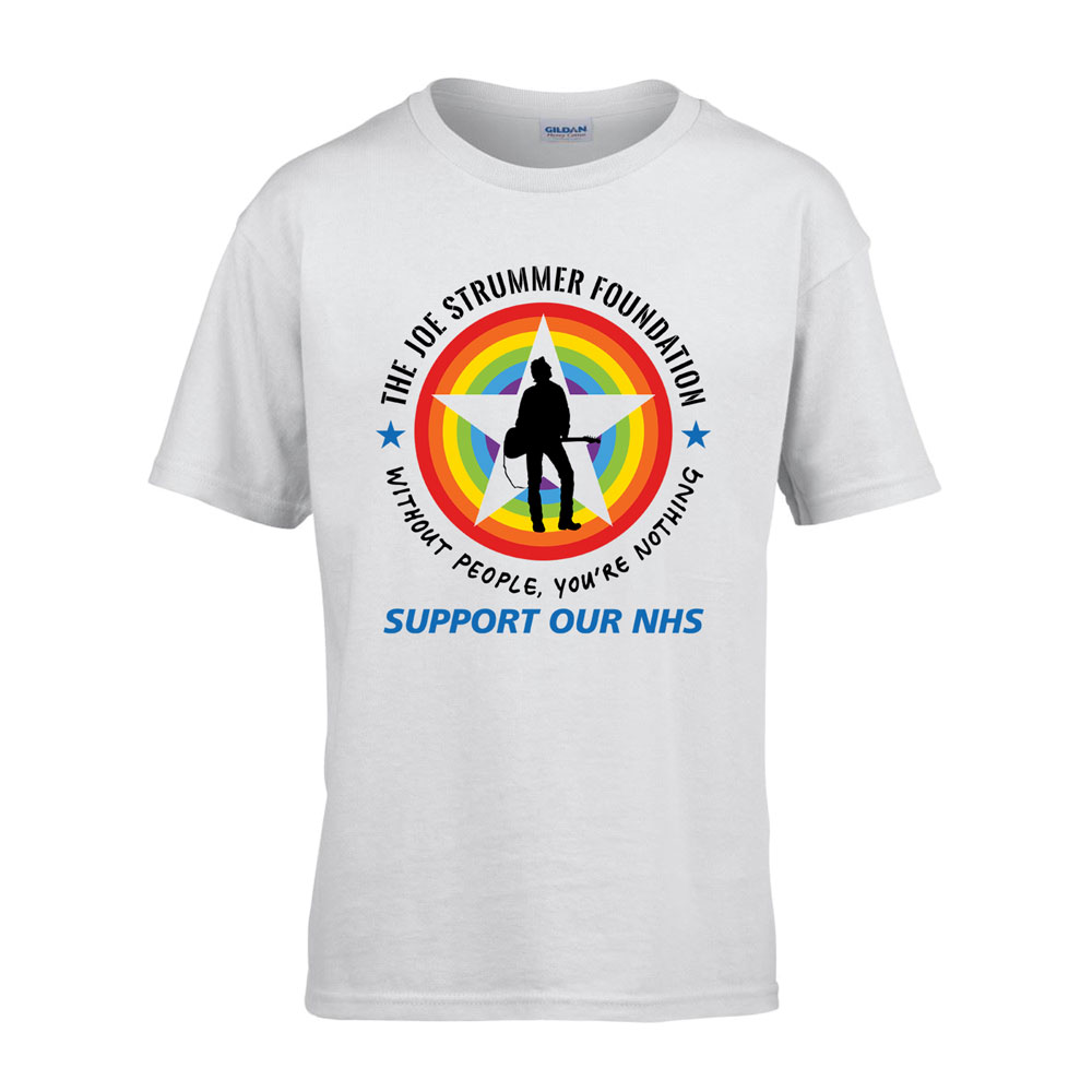 The Joe Strummer Foundation - JSF Ltd Edition Logo T Shirt (Youths)