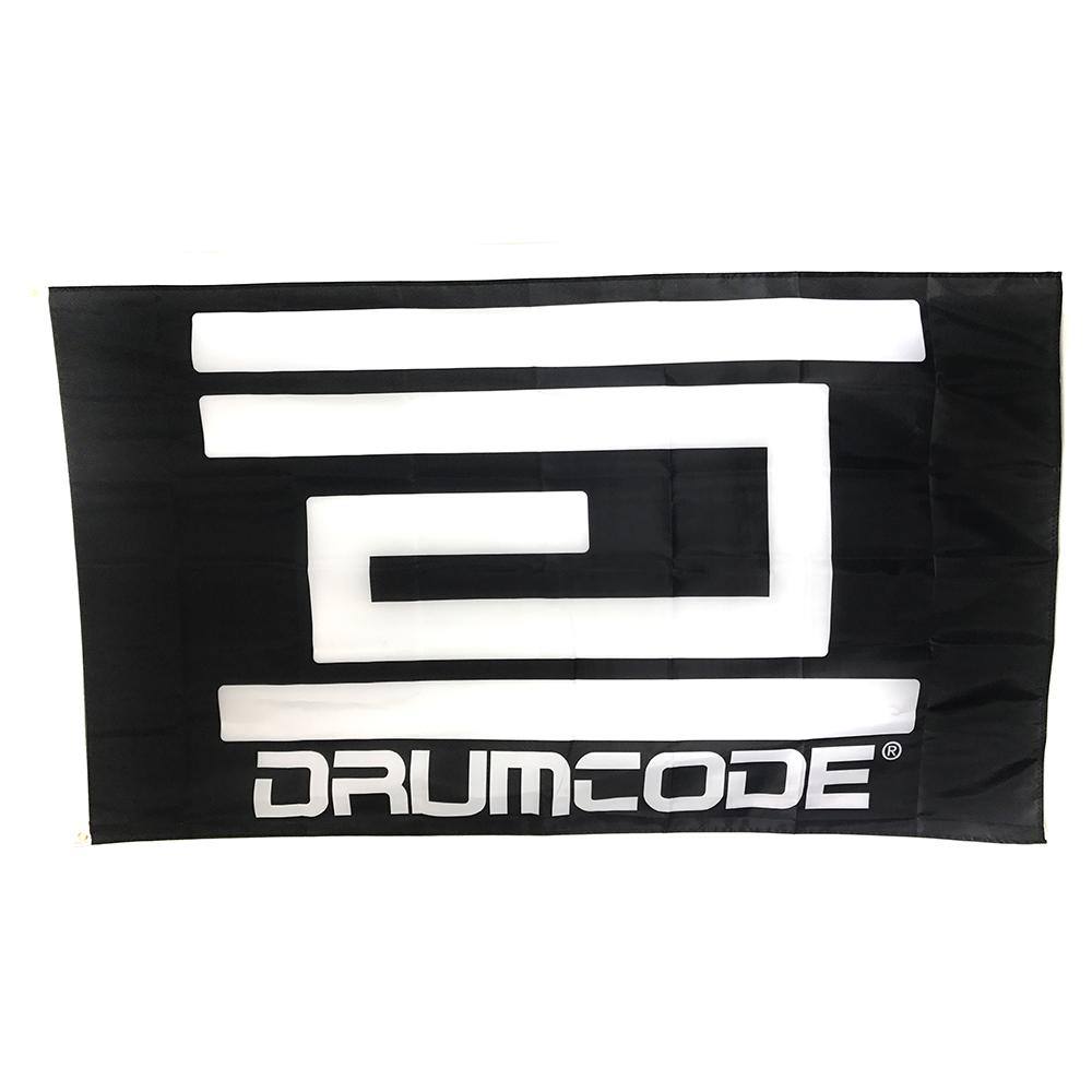 Drumcode - Flag (Black)