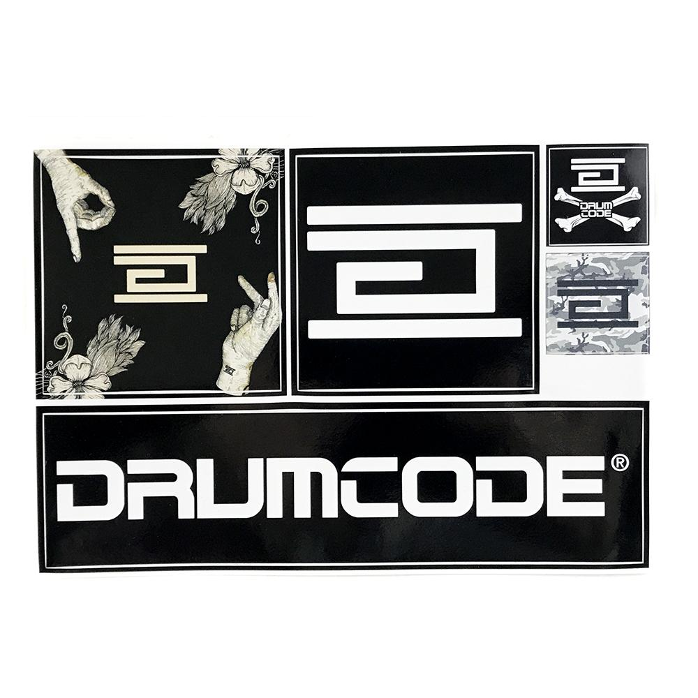 Drumcode - A5 Sticker Sheet (Various)