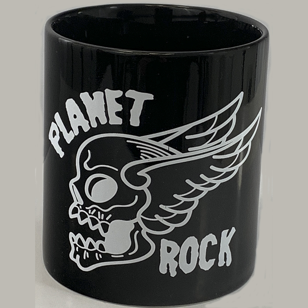 Planet Rock - Flying Skull