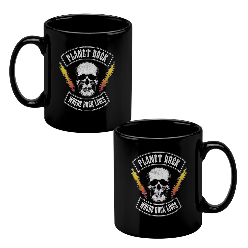 Planet Rock - Biker Patch II Mug