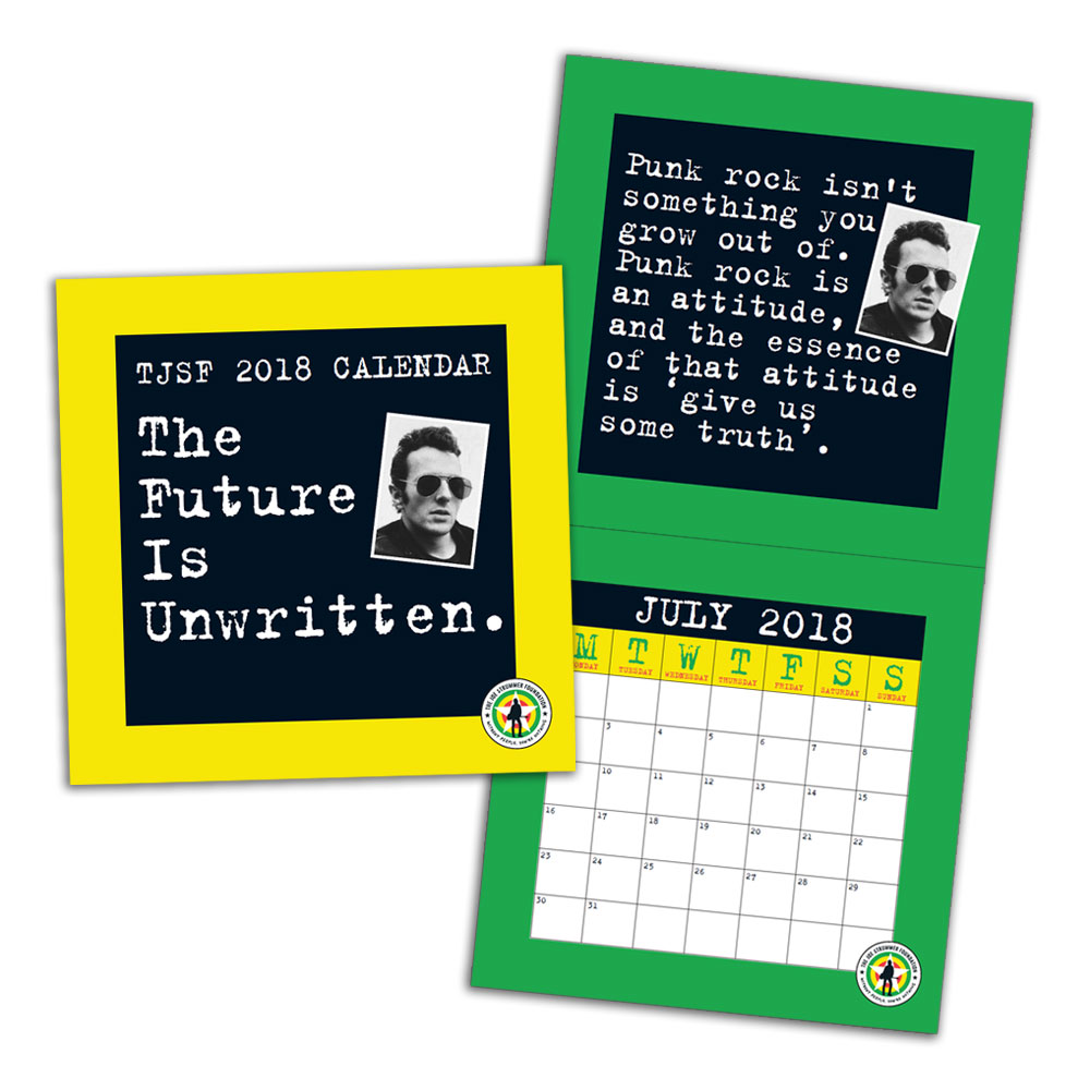 The Joe Strummer Foundation - The Future Is Unwritten 2018