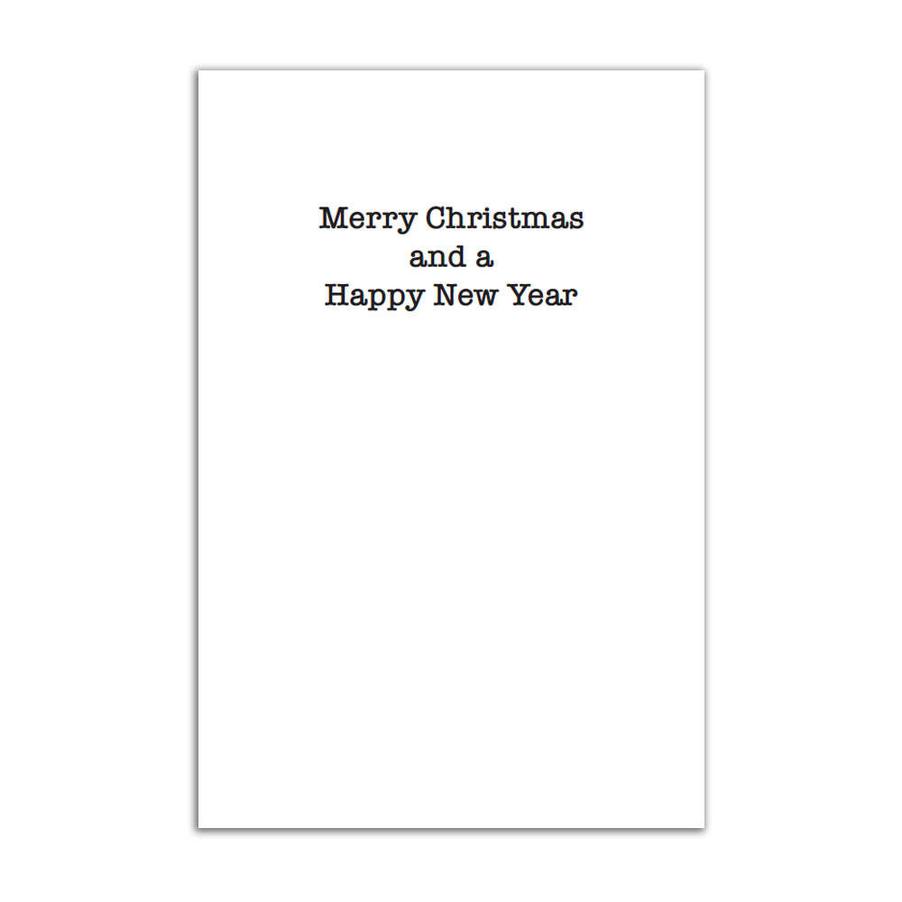 The Joe Strummer Foundation - Barbed Wire Christmas Tree Cards (Pack of 8)