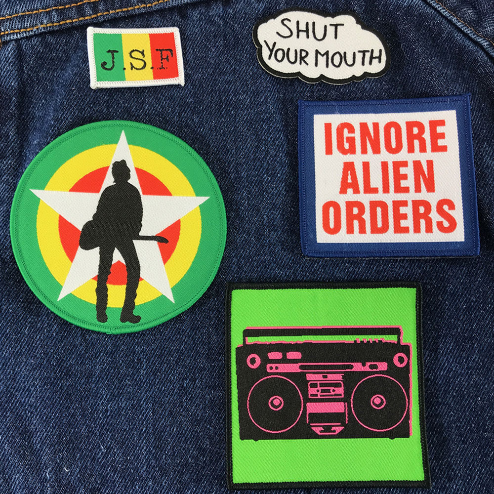 The Joe Strummer Foundation - JSF Assorted Patches