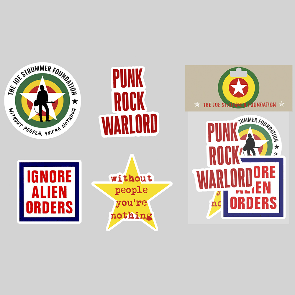 The Joe Strummer Foundation - Sticker Pack 1