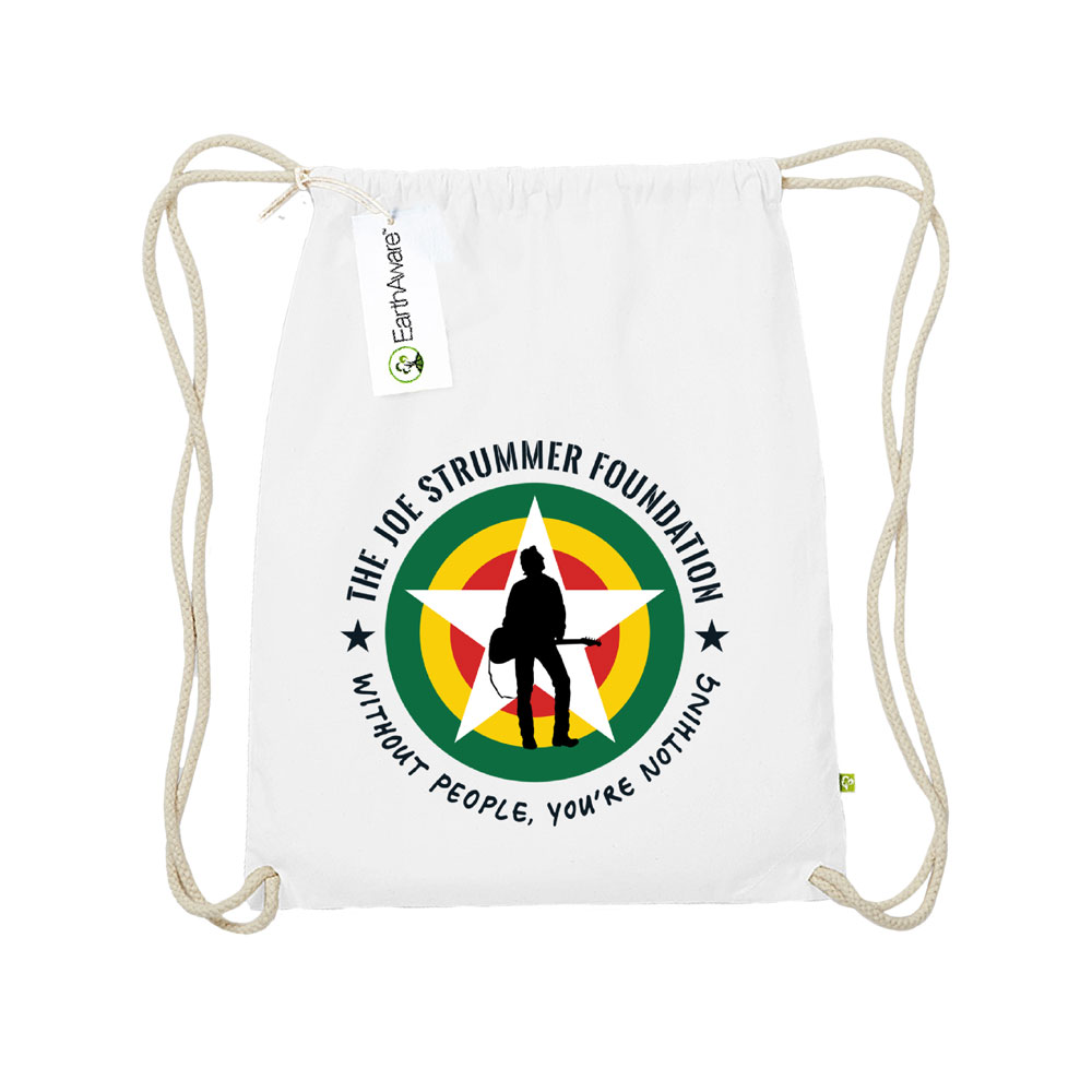 The Joe Strummer Foundation - Eco Friendly Gym Bag