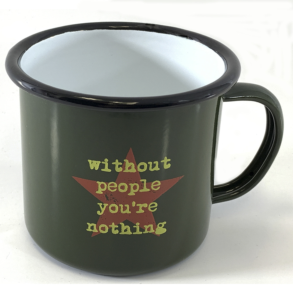 The Joe Strummer Foundation - Metal Camping Mug