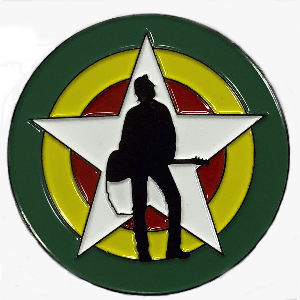 The Joe Strummer Foundation - Enamel Logo Badge