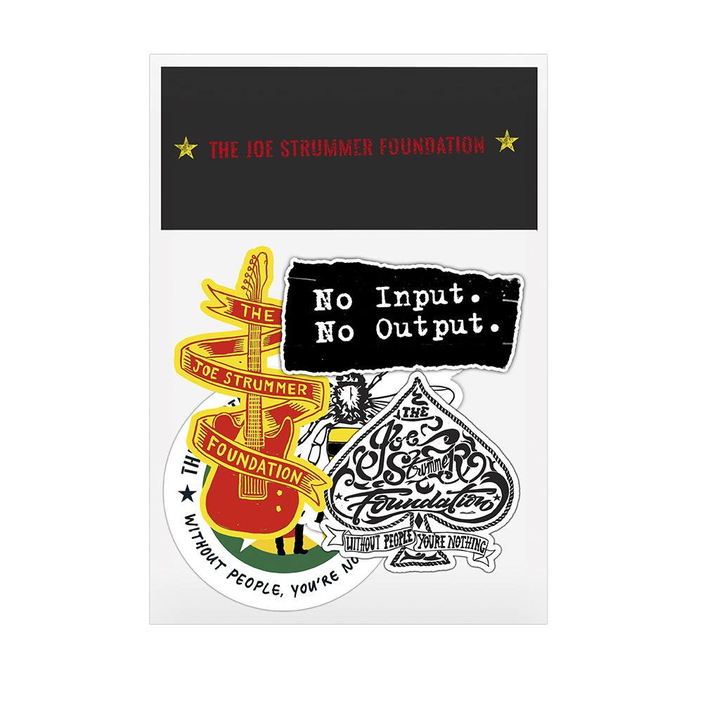 The Joe Strummer Foundation - Sticker Pack 2