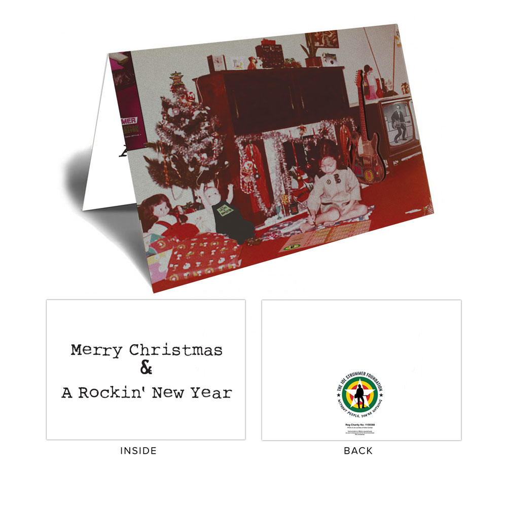 The Joe Strummer Foundation - JSF 2019 Xmas Cards