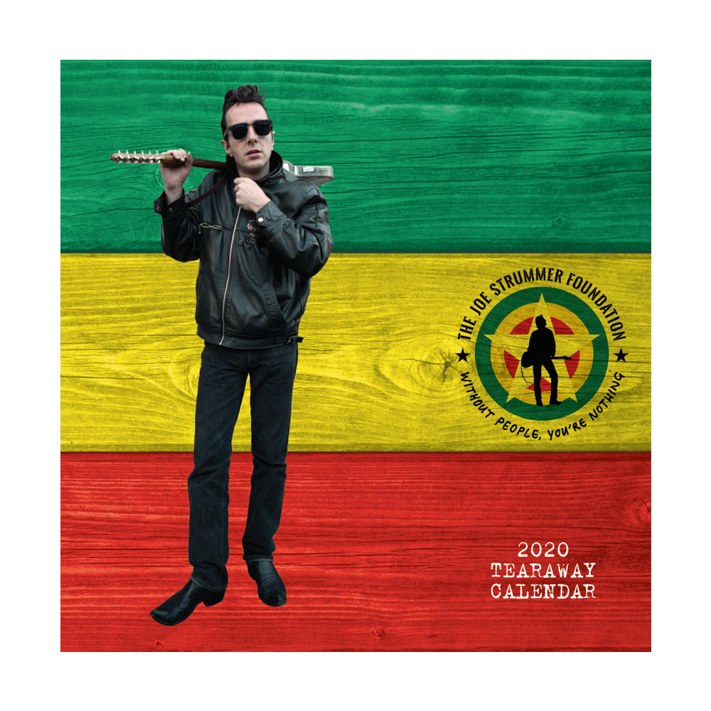 The Joe Strummer Foundation - JSF 2020 Tear Off Calendar