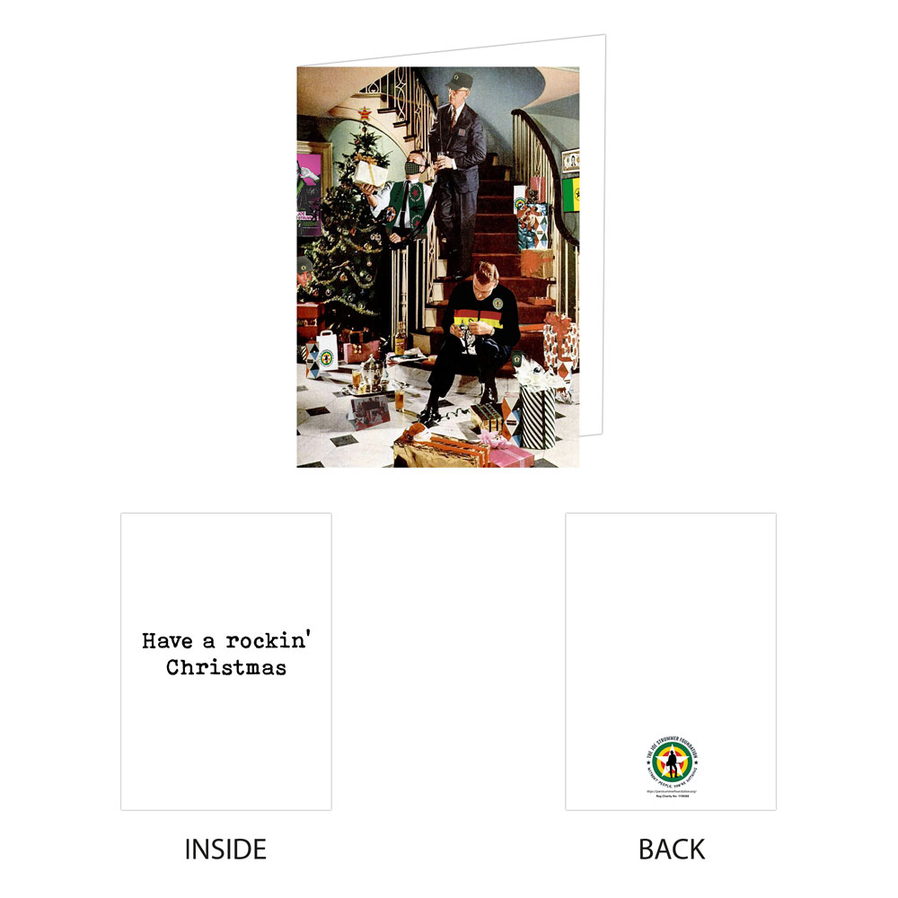The Joe Strummer Foundation - JSF 2020 Christmas Cards (Set of 5)