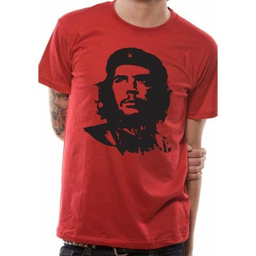 Che Guevara - Red Face (Red)