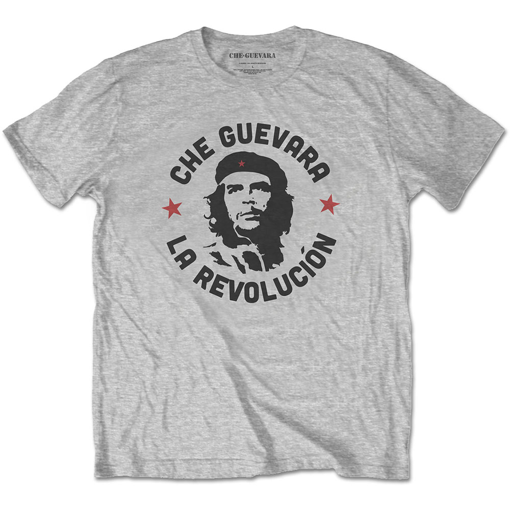 Che Guevara - Circle Logo (Grey)
