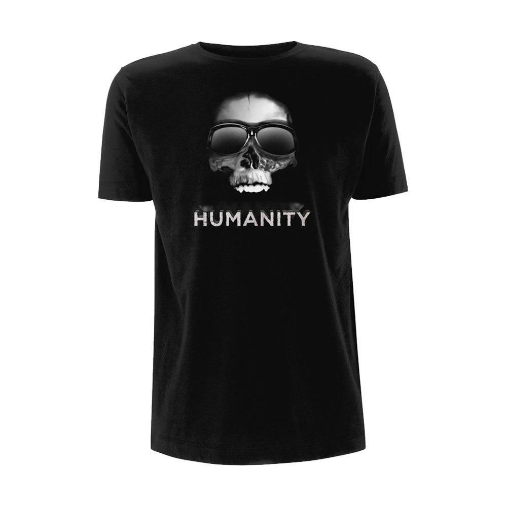 Ricky Gervais - Humanity Tour Skull Sunglasses (Black)