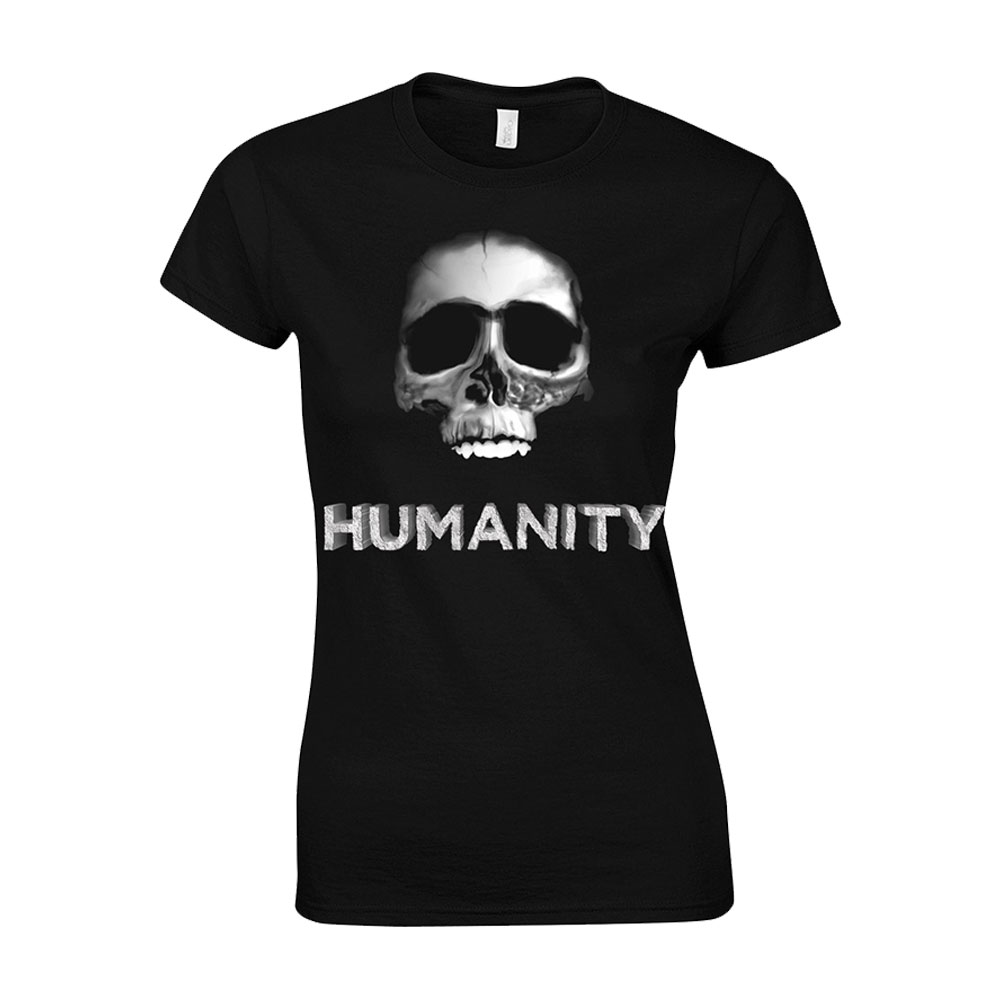 Ricky Gervais - Humanity Tour Skull Babydoll (Black)