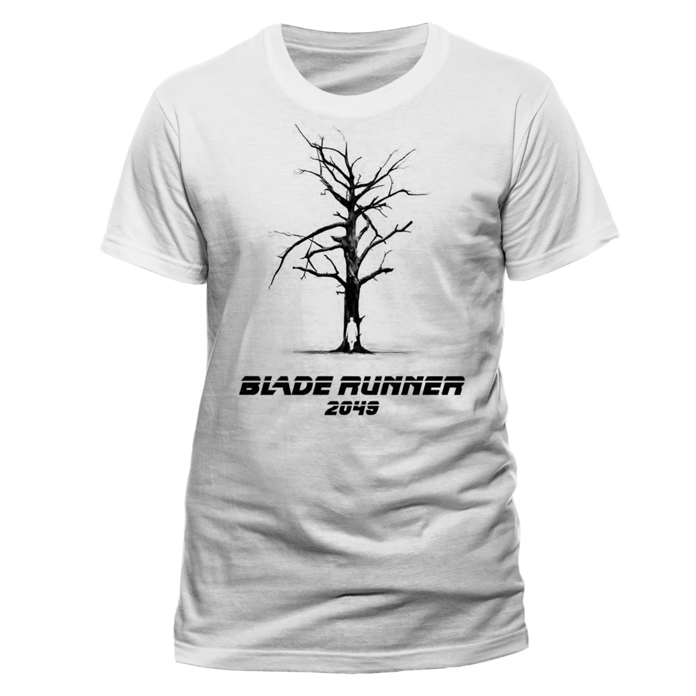 Blade Runner 2049 - Tree (White)