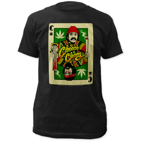 Cheech & Chong - Playing Card (Black)